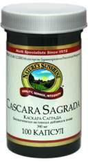 БАД Каскара Саграда (Cascara Sagrada - Жостер Пурша) NSP 100 капсул