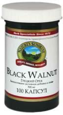 Биологически активная добавка (БАД) Black Walnut (Блэк Волнат (Грецкий орех)) NSP 100 капсул