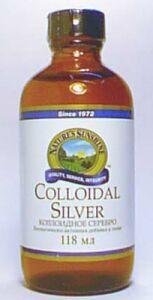 Биологически активная добавка (БАД) Colloidal Silver (Коллоидал силвер (Коллоидное Серебро)) NSP 118 мл